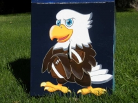 Eagle with Football