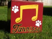 Tannisse Music note