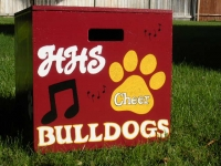 HHS Bulldogs paw print