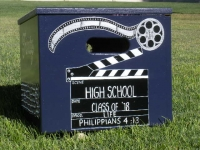 Movie Slate & film reel