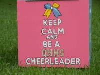 Keep Calm Cheerleader