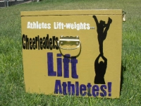 Cheerleaders Lift
