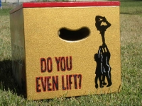 Do you Lift?