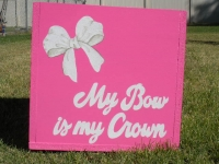 My Bow is my Crown
