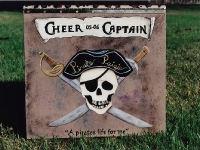 Cheer Captain Pirate