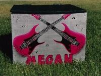 Megan Pink Guitar