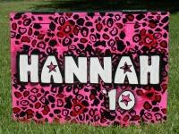 Hannah 10 pink Leopard