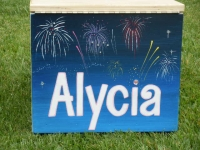 Alycia fireworks